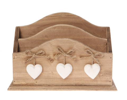 Farmhouse Letter Rack 10460
