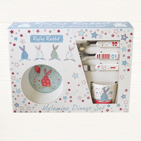 Melamime Dinner Set - Boy 7428