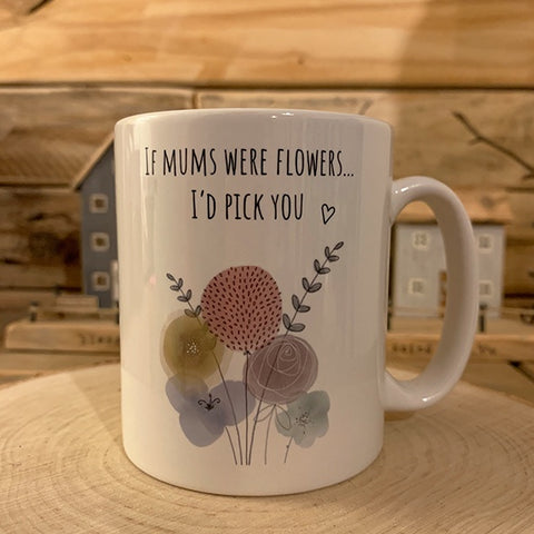 Pixie Fluff Flowers Mug - If Mums Were Flowers 11032