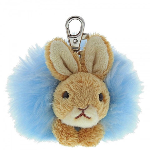 Beatrix Potter - Peter Rabbit Pom Pom Keyring 7349