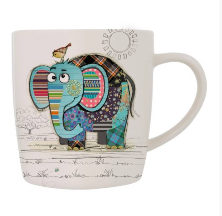 Bug Art Mug in a Gift Box - Elephant 10246