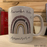 Rainbow Mug - Remember His Promises 10862