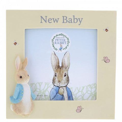 Beatrix Potter Peter Rabbit New Baby Photo Frame 11239