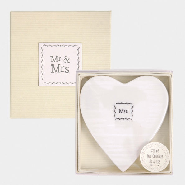 119 boxed coasters mr and mrs 94