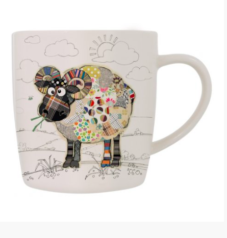 Bug Art Mug in a Gift Box - Ram 10247