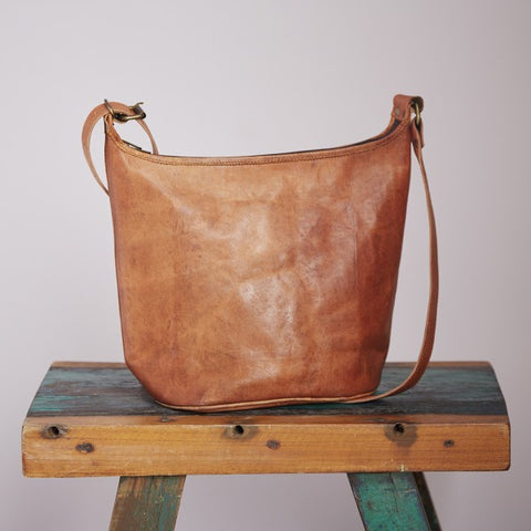 Leather Tote Bag 9631