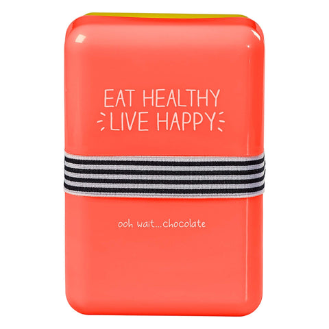 Lunch Box- Eat Healthy, Live Happy 7393