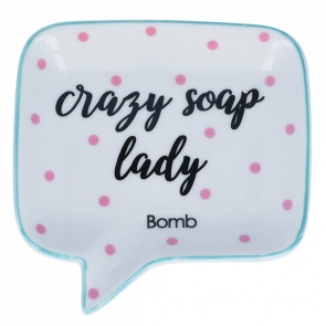 Soap Dish - Crazy Soap Lady 9034