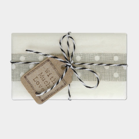 String Tied Soap - With Much Love 10189