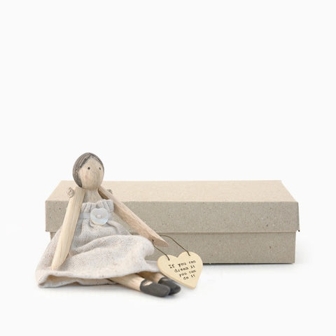 Wooden Girl in Box - If You Can Dream It 7964