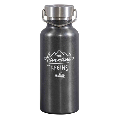Stainless Steel Water Bottle - The Adventure Begins 8910