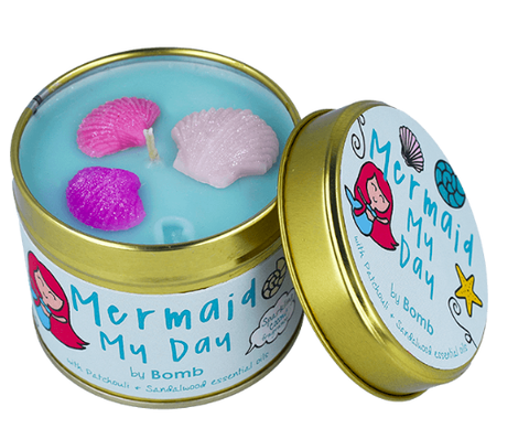 Candle Tin - Mermaid my Day 9750