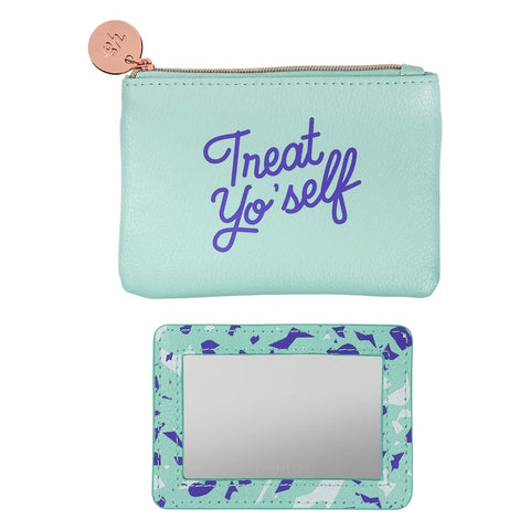 Yes Studio Coin Purse - Treat Yo'Self 8916