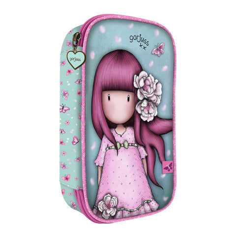 Gorjuss Cherry Blossom Fold Out Filled Pencil Case 10167