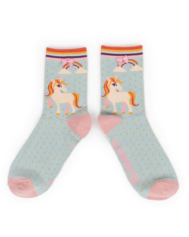 Ankle Sock - Unicorn 7360