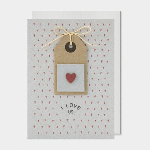 Card - I Love Us 7212