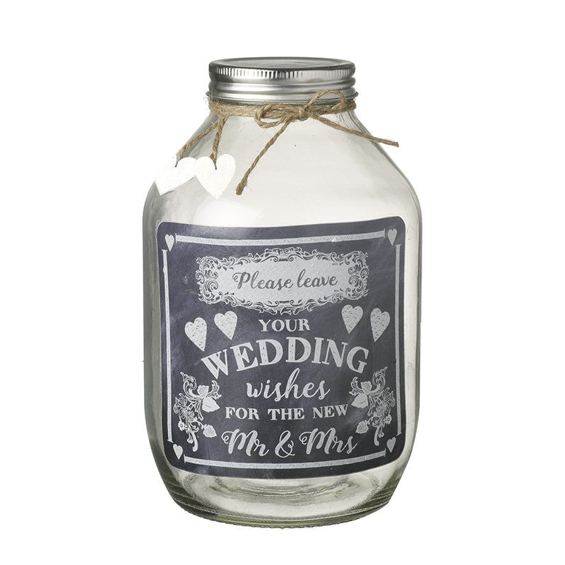 Wedding Wishes Jar 7633