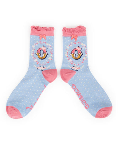 Powder Ankle Sock - O 8016