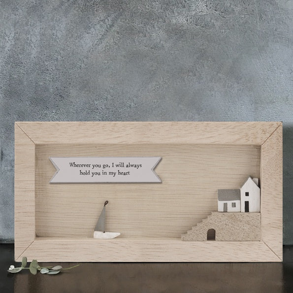 Long Box Frame - Wherever You Go I Will Hold You 9149
