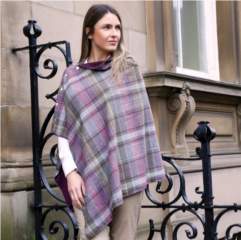 Earth Squared Tweed Wrap - Heather 8405