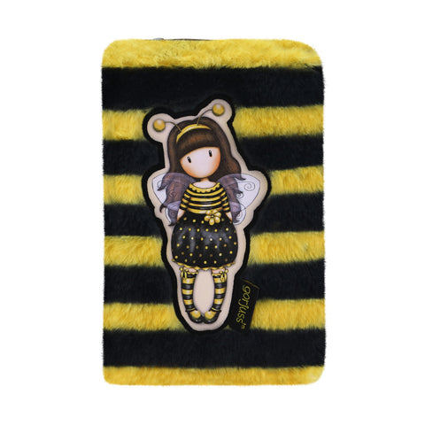Gorjuss Furry Wallet - Bee-Loved 9016