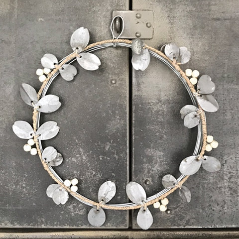 Metal Wreath - Berries & Leaves 8422