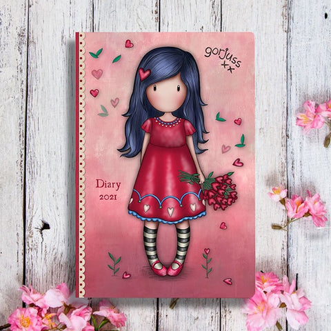 Gorjuss Pocket Diary - Love Grows 10497