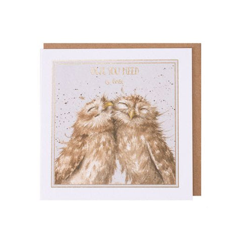 Greetings Card - Love 11317