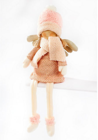 Christmas Sitting Doll 50cm 8340