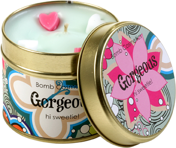 Candle Tin - Gorgeous 4560