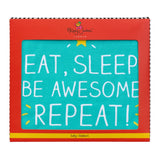 Happy Jackson Eat, Sleep Baby Blanket 4766