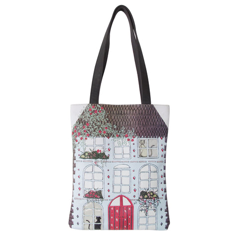 Disaster Home Tote Bag 994
