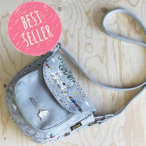 Disaster Moomin Saddle Bag Meadow Print 8349