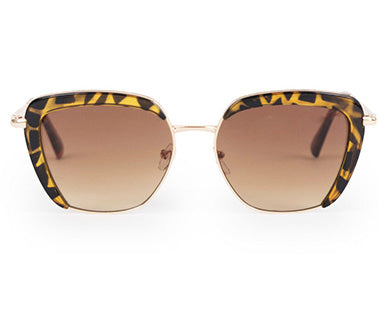Powder Sunglasses - Bardot in Mocha Tortoiseshell 7778