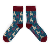 Powder Men's Socks - Llama 10547