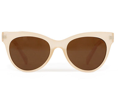 Powder Sunglasses -Pamela in Frosted Beige 8979