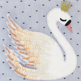 Disaster Secret Garden Swan Purse 8351