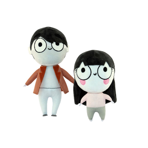 Cinimomo Couple Plushie Bundle