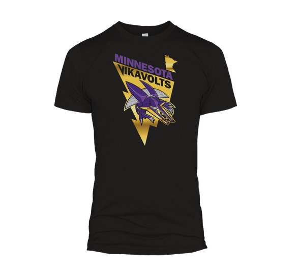 Gold Foil Vikavolts Tee
