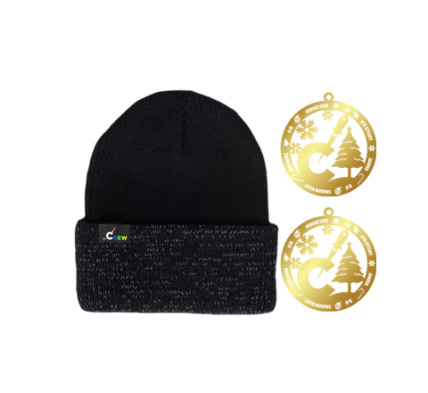 The Crew Beanie & Ornaments