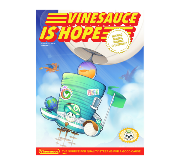 2018 Vinesauce is HOPE Event Magazine