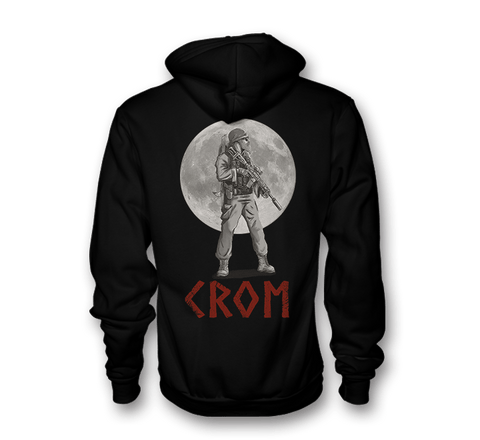 Crom Moon Hoodies