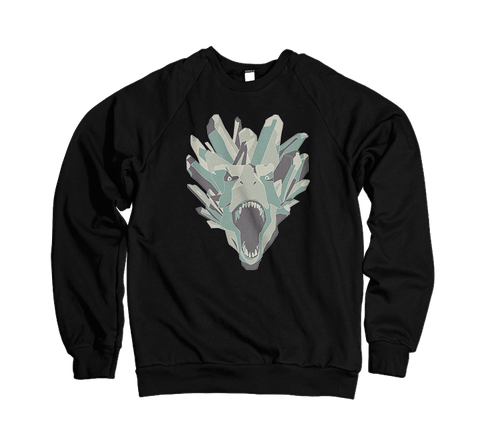 Crystalline Roar Hoodies