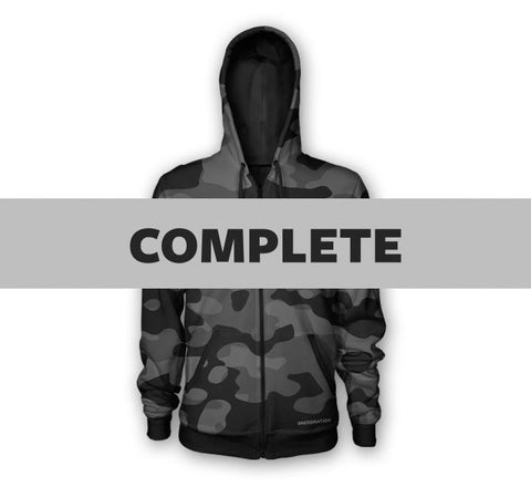 Custom Loyal Patriot Camo Hoodie