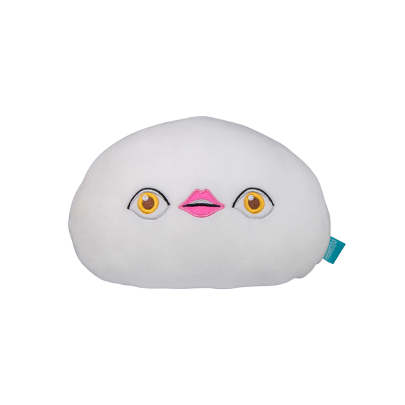 Eye Lips Eye Plush Pillow