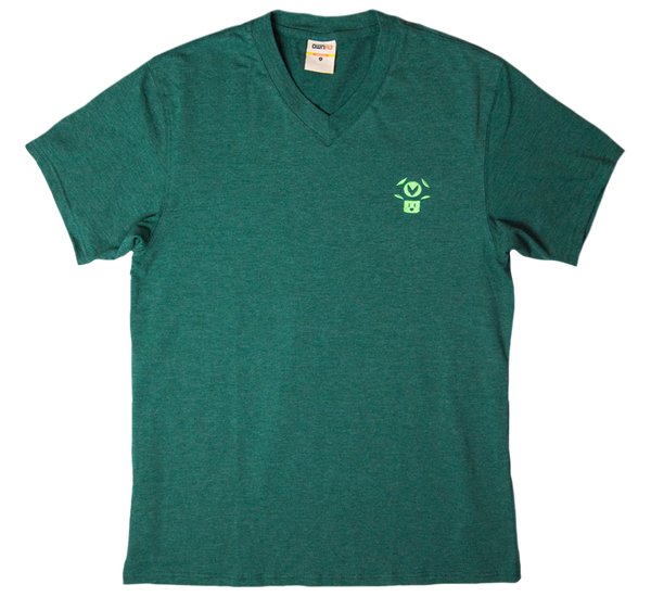 Vineshroom Embroidered V-Neck