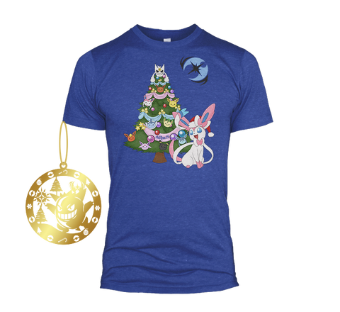 AuSLove Ultra Moon Christmas Tee