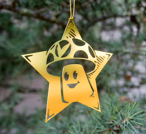 Vineshroom Ornaments (Set of 3)