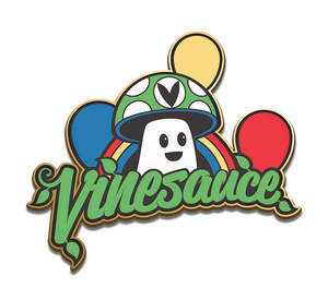 2017 Vinesauce PCRF Charity Pin