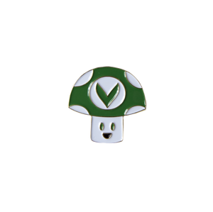 Vineshroom Enamel Pin